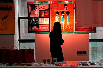 武汉大学生举办毕业设计展
