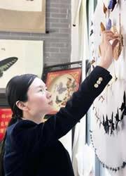 武漢一家三口辦蝴蝶博物館 市民免費參觀