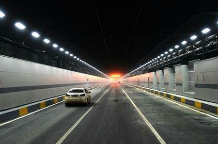 中国最长湖底隧道 武汉东湖隧道通车