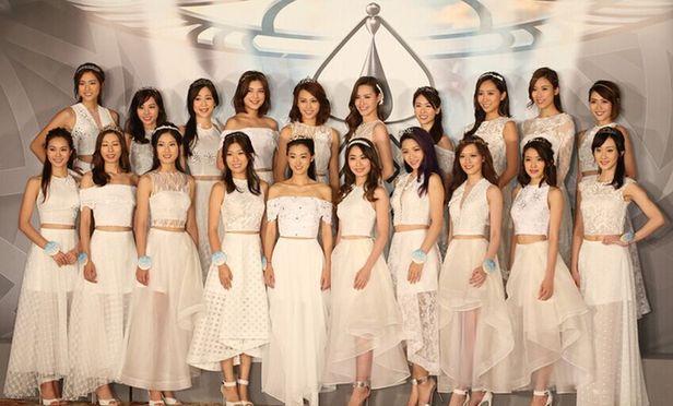 2016香港小姐20強出爐 看看她們長啥樣