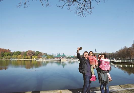 武漢:晴暖天氣一直持續到周末