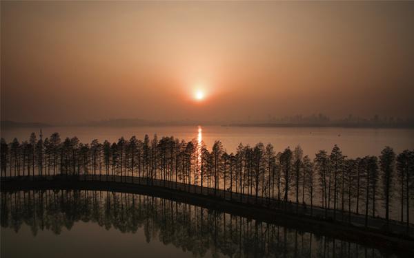 航拍:世界級東湖綠道