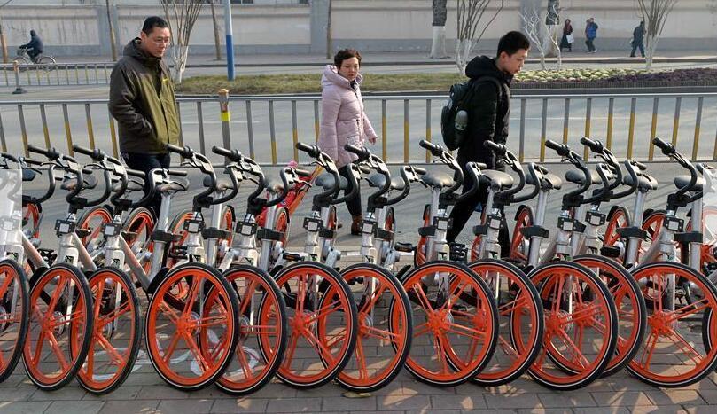 智能共享單車讓出行更輕松