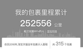 武漢網購達人一年包裹315個