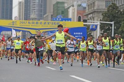 武漢馬拉松冒雨開跑,2017還有哪些賽事可以跑