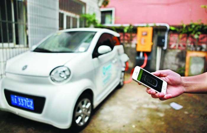 武漢:公務出行用上共享汽車