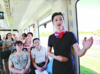 武漢首條現代有軌電車線路28日通車試運營