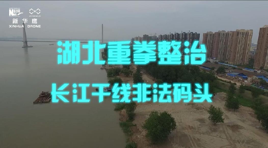 保護進行時丨湖北重拳整治長江幹線非法碼頭