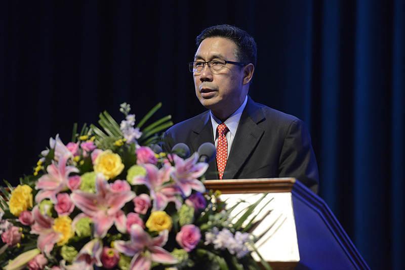 中國食品土畜進出口商會會長邊振瑚致辭