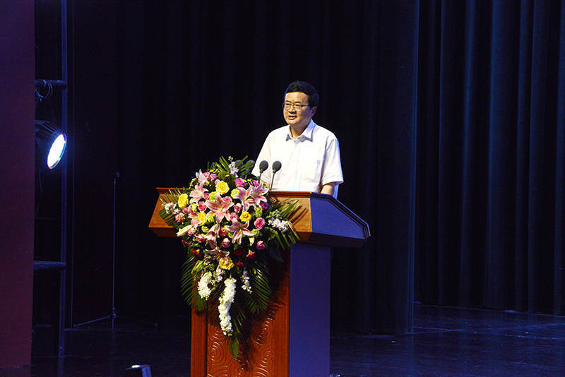 湖北省人民政府副省長郭生練宣布開幕