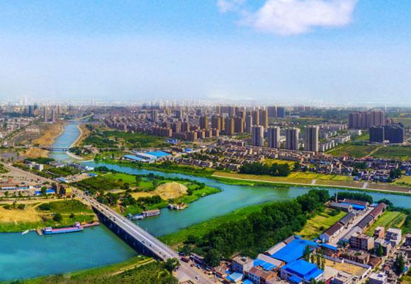 新華網新聞無人機航拍:鳥瞰美麗天門