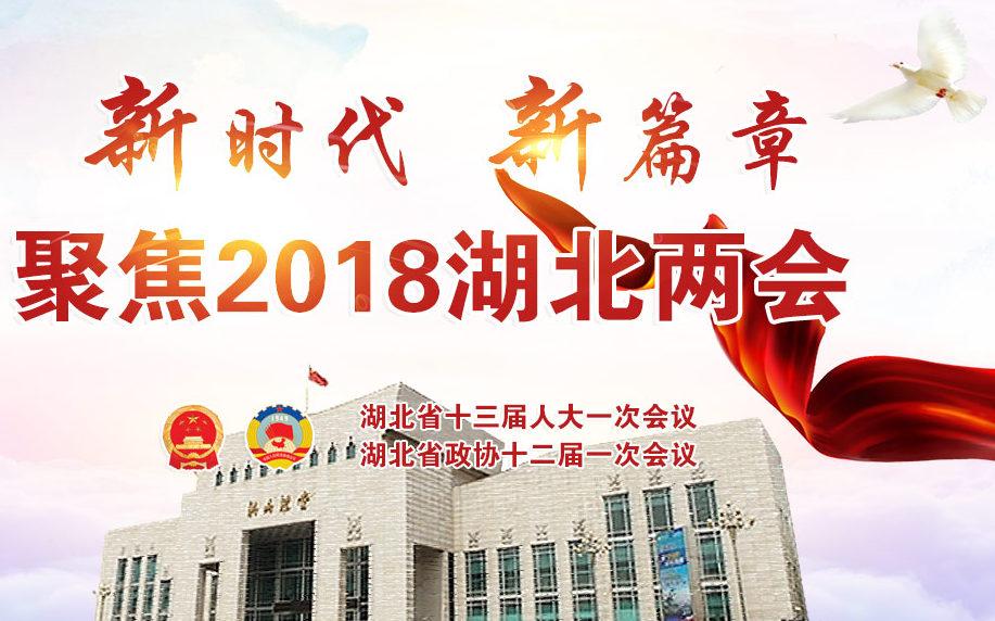 新時代(dai) 新篇章(zhang) 聚焦2018湖北兩會