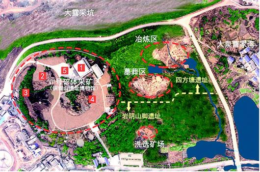 銅綠山遺址公園即將全面開建