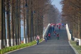 海內外學子暢跑東湖綠道 首屆全國大學生馬拉松月底鳴槍