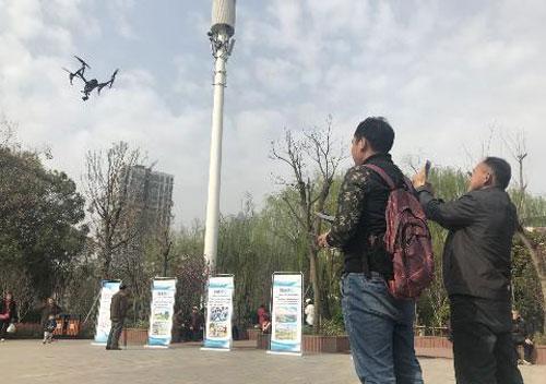武漢全市推廣無人機巡湖 零死角保護江河湖泊