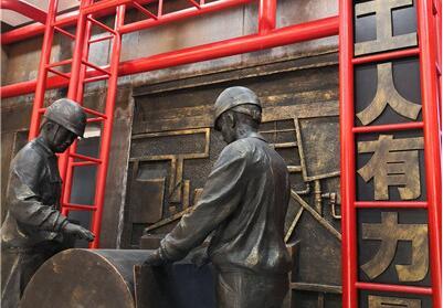 青山綠水紅鋼城時代館開館 展現青山40年巨變