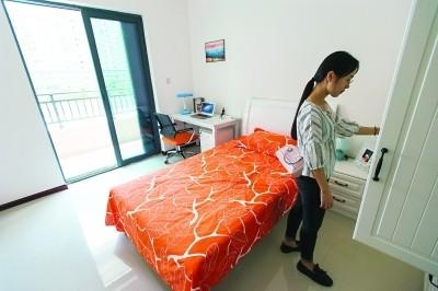 家具家電一應俱全 武漢人才公寓最低月租僅百元