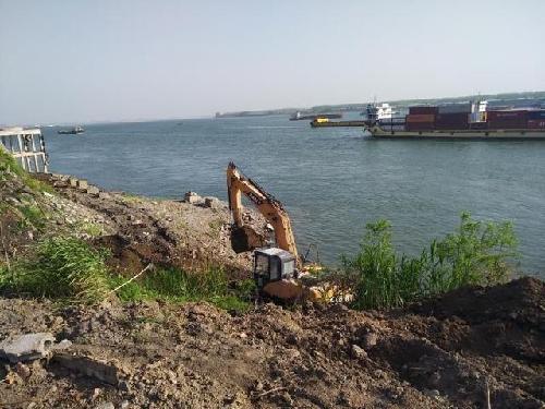 打赢长江大保护攻坚战 荆州沙市34处码头全部搬迁