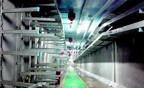 黄石给地下管廊装上智能心 示范段8月底投入试运行