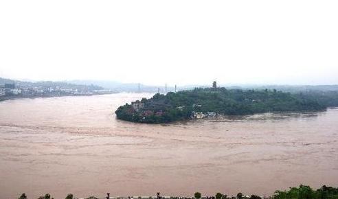 长江6年来最大洪水通过荆江河段