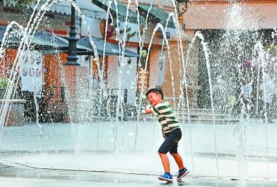 武汉高温持续到周日 下周才有阵性降水来消暑