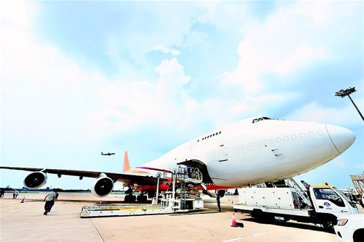 武汉开通直飞比利时货运航线