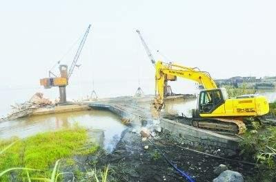 """一年多拆除41座貨運碼頭 武穴的灰碼頭如何變成""""綠世界"""""""