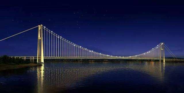 楊泗港大橋開鋪千噸級鋼梁 明年軍運會前通車