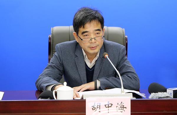 胡中海:湖北自貿區高端産業集聚發展態勢明顯