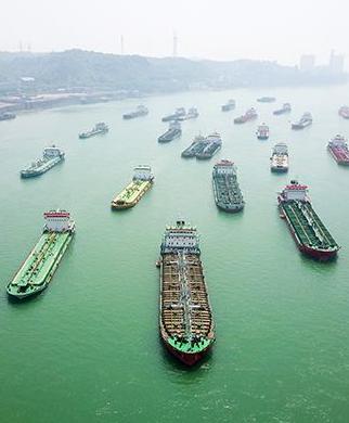 長江幹線年貨物通過量刷新紀錄達26.9億噸