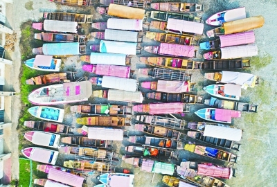 """武漢東湖協商收購339條小遊船 打造環保現代""""水上綠道"""""""