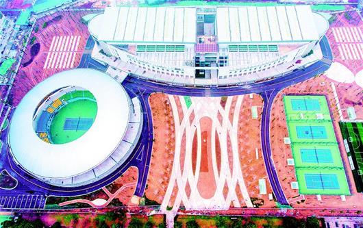 襄陽網球中心啟用