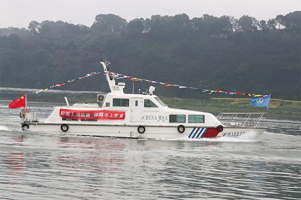 長江幹線水域實現分道航行全覆蓋