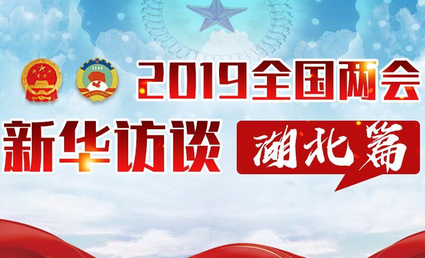 2019全國兩會新華訪談湖北篇