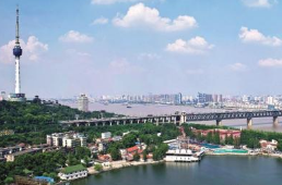 3月25日起至4月13日武漢長江大橋夜間施工