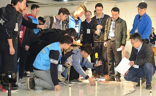 第六屆全國工程訓練競賽湖北賽區比賽落幕