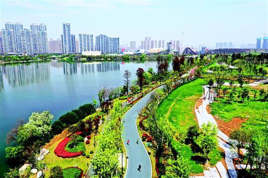 武漢東湖綠道進行賽道測試