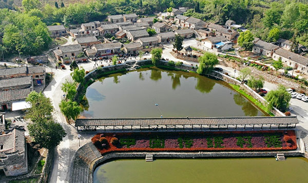 古韻悠長 鳥瞰麻城600年古村落