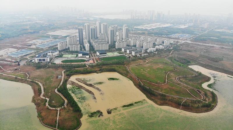 武漢軍運會運動員村竣工 可容納上萬人居住