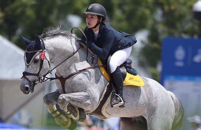 馬蹄騰躍 第七屆世界軍人運動會馬術場地障礙測試賽開賽