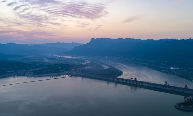 三峽水庫防汛騰庫進入最後階段
