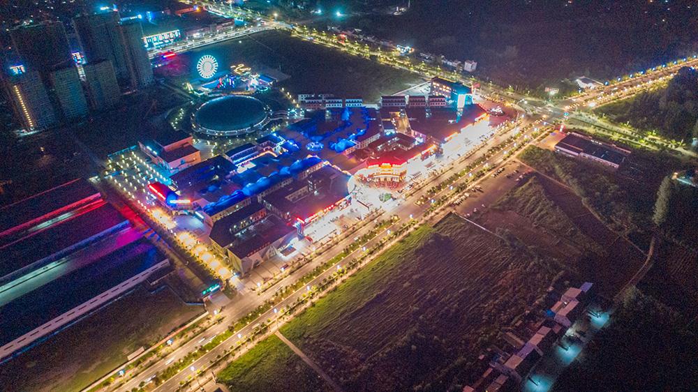 潛江龍蝦城夜景