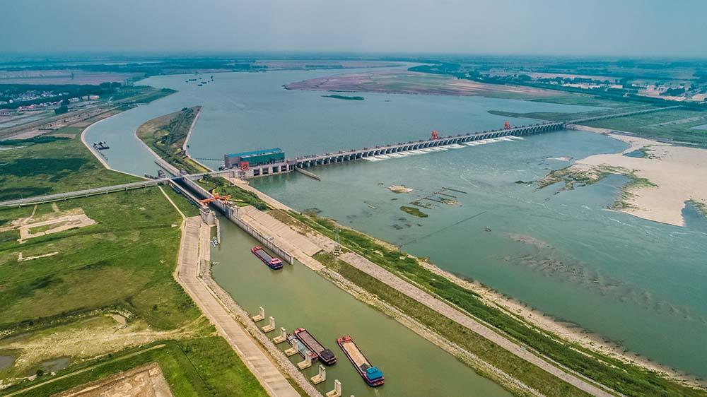 航拍興隆水利樞紐