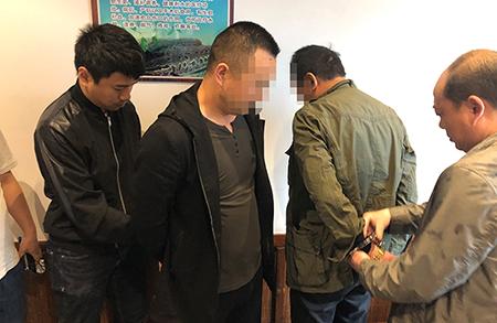 湖北警方摧毀漢江流域一非法採砂利益團夥 抓獲12人