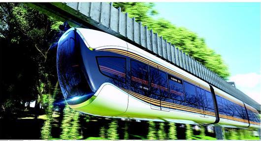 武漢年內試跑空軌列車