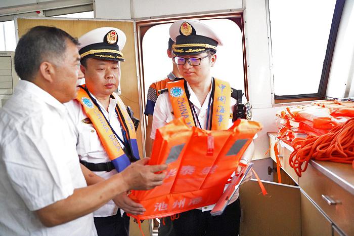 世界海員日丨船員流動課堂送培訓到船頭