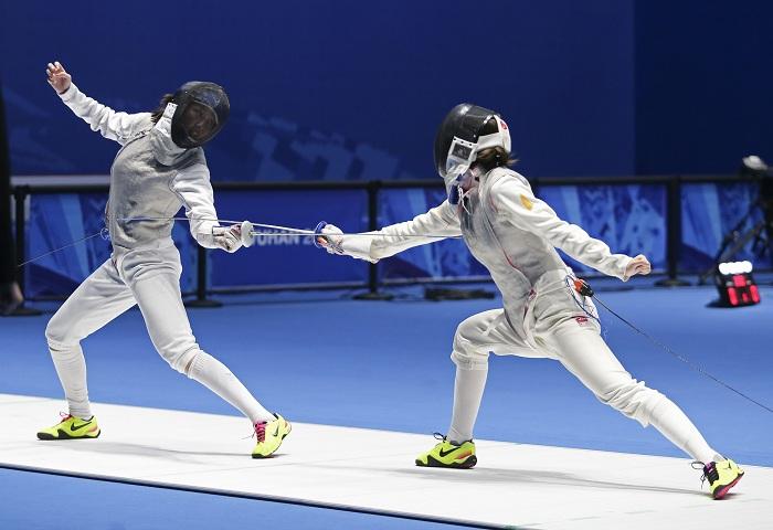 第七屆世界軍人運動會擊劍測試賽在漢開賽