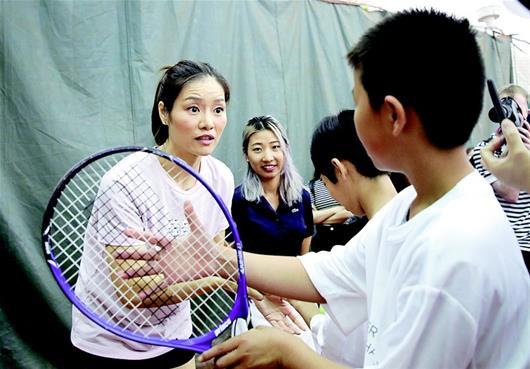 李娜進入國際網球名人堂 武網推廣大使成亞洲第一人