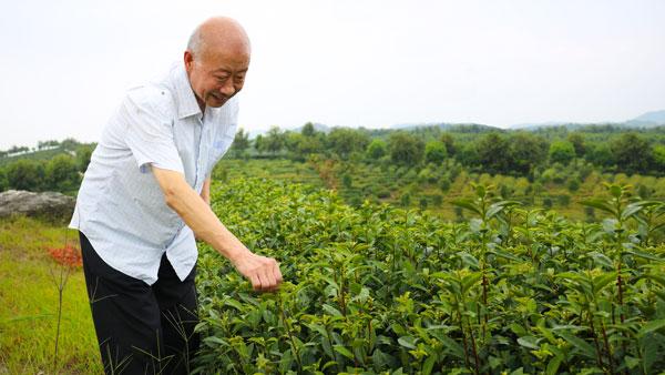徐宗元:幫助老區人民脫貧致富是共産黨員應做之事