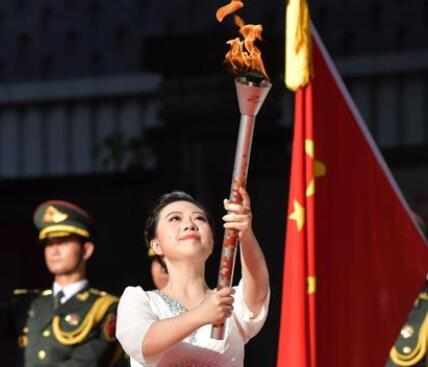 第七屆世界軍人運動會聖火火種採集和火炬傳遞啟動儀式舉行